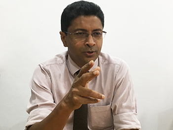 Message from Mr. Pubudu Sumanasekara </br> Executive Director, Alcohol and Drug Information Centre (ADIC)
